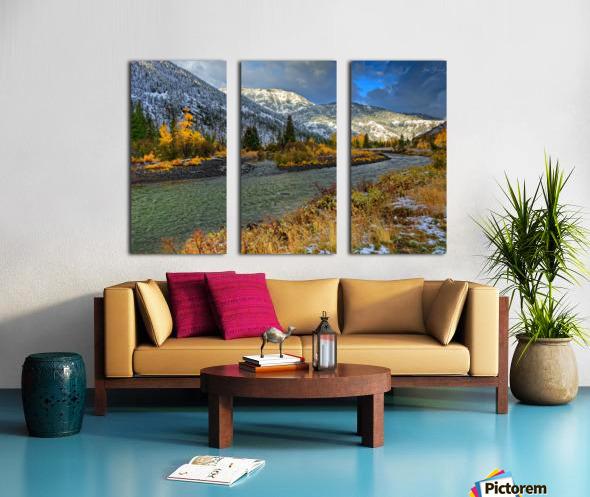 Yellowstone National Park Split Canvas print