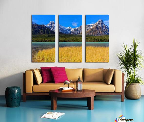 Banff National Park Alberta Canada Split Canvas print