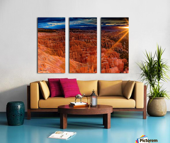 Bryce Canyon National Park Utah Split Canvas print