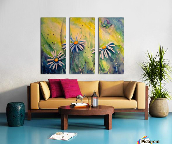 Sunshine  Split Canvas print