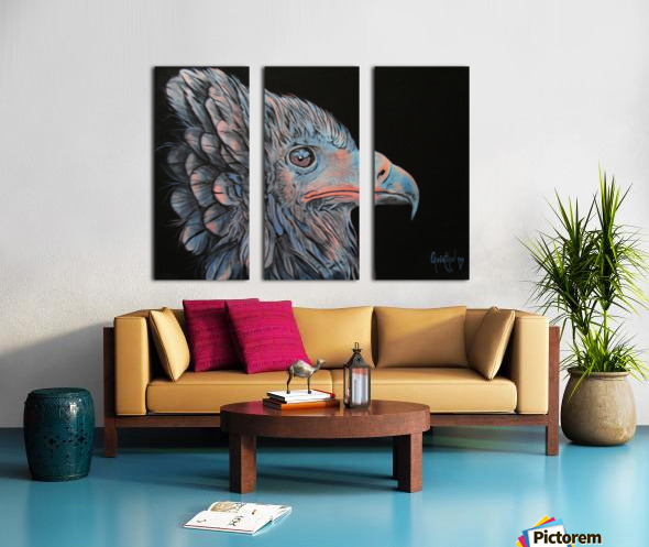 Insomniac Split Canvas print