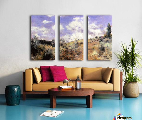 The blast Split Canvas print