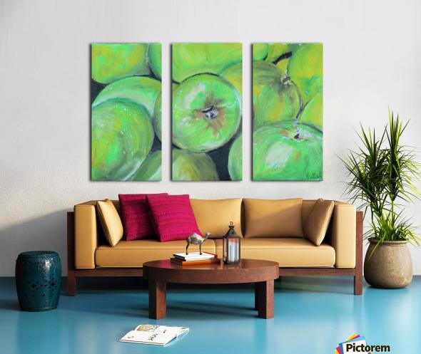 Apples Split Canvas print