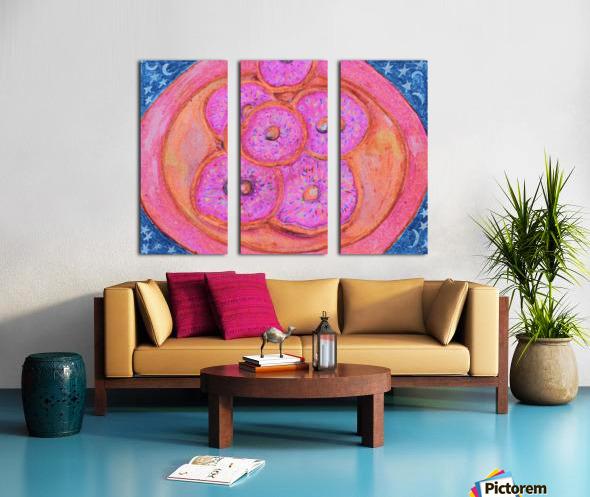 Pinkdoughnuts Split Canvas print
