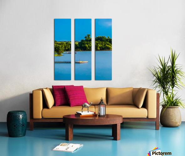 Carries Paradise Split Canvas print