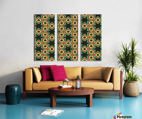 BHM Split Canvas print