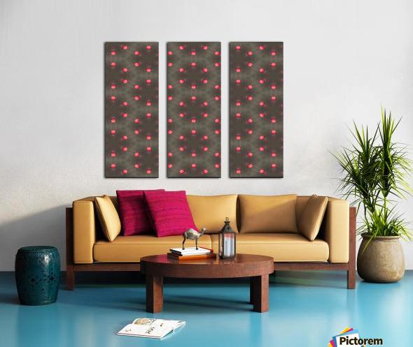 redbeads Split Canvas print