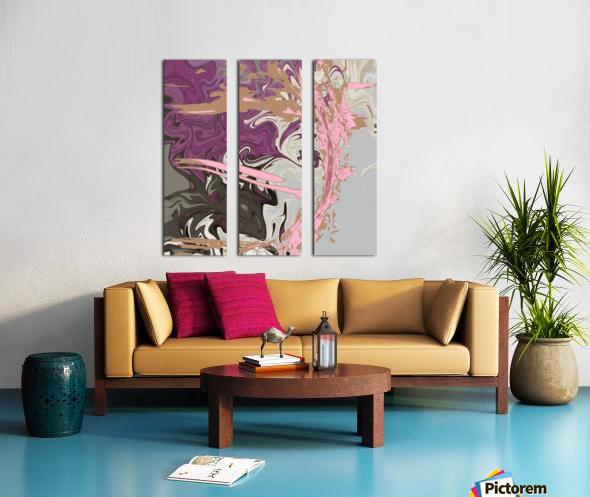 Art Nouveau Pour Split Canvas print