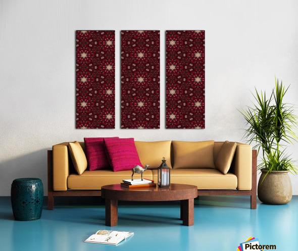 pomegranate Split Canvas print