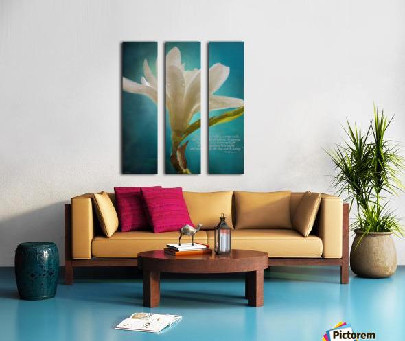Like Morning Light - Flower Art by Jordan Blackstone Split Canvas print