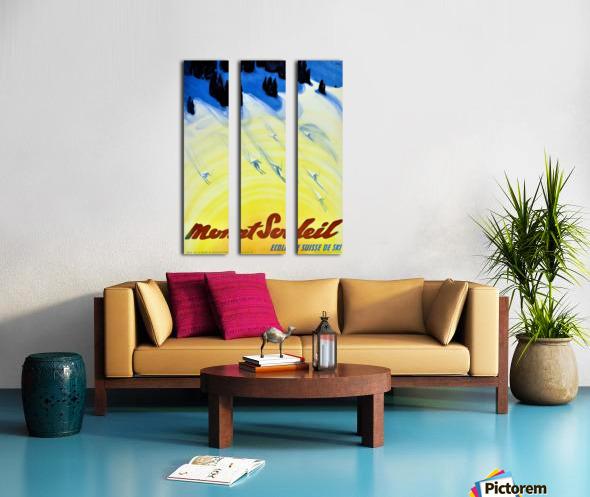 Mount Soleil Split Canvas print