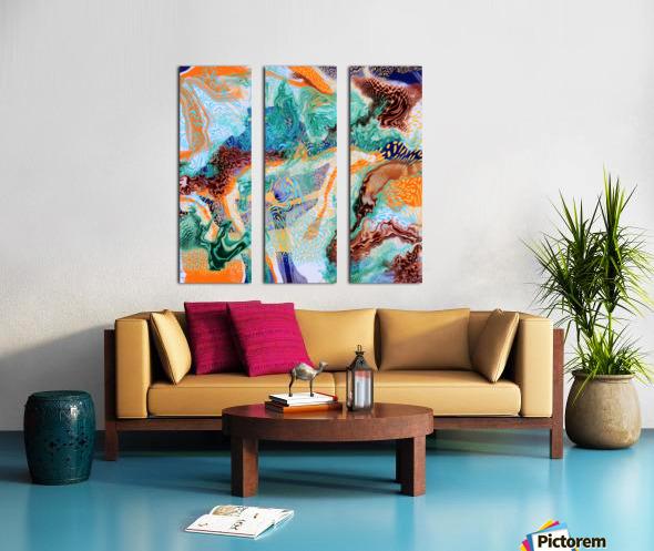 popartfantasy Split Canvas print