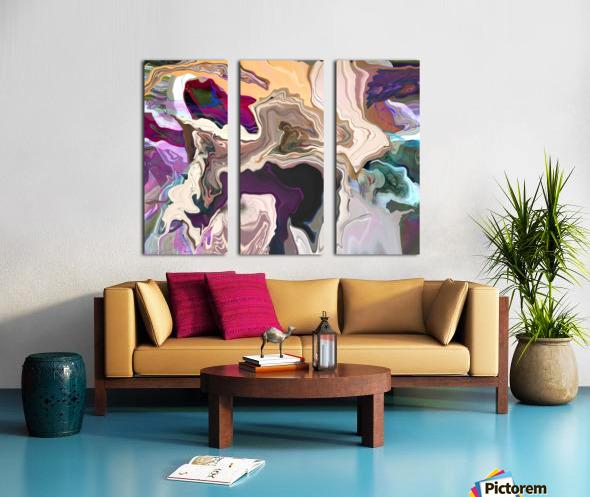 Geode Inside Split Canvas print