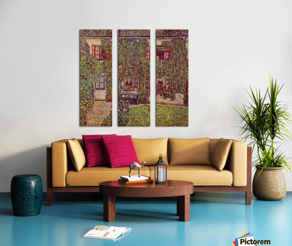 The House of Guard by Klimt Split Canvas print