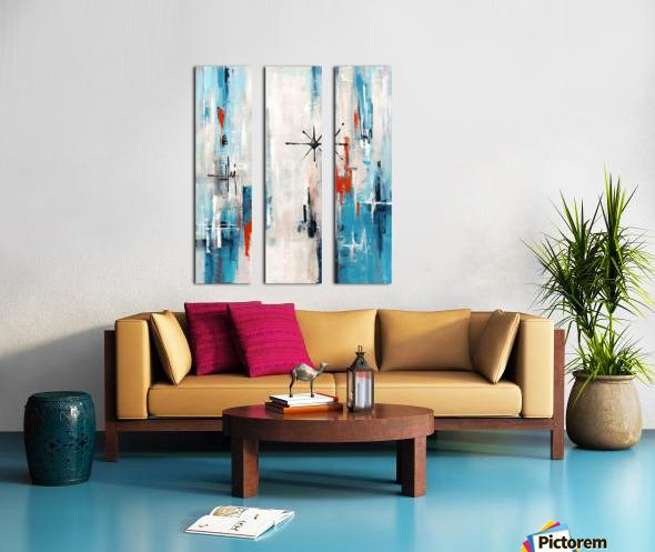 Stella XI Split Canvas print