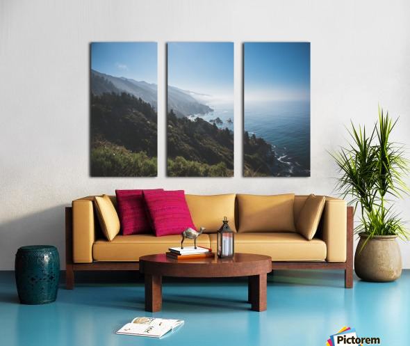 Big Sur California Split Canvas print