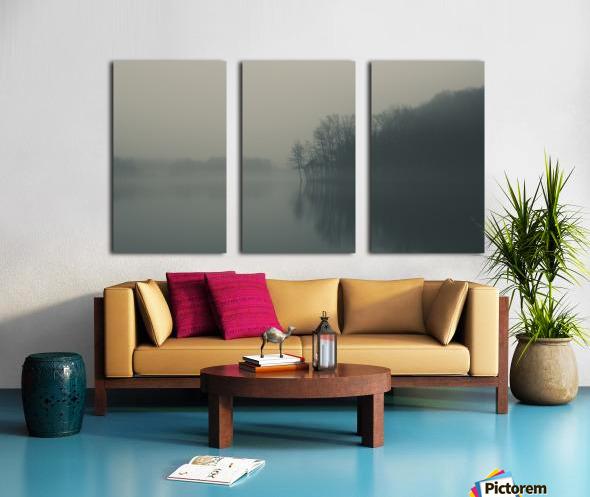 Fog and Peace Split Canvas print