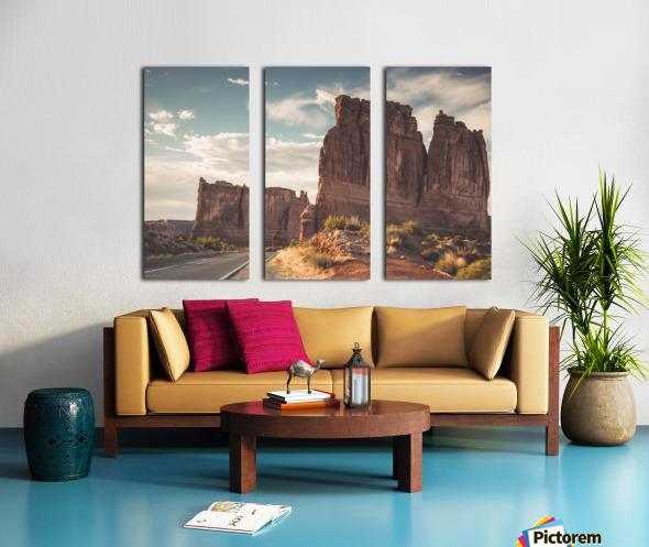 Arches National Park UT Split Canvas print