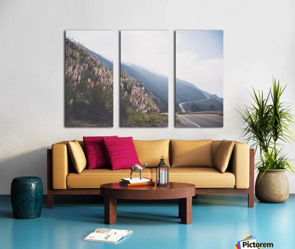 Pacific Coast Highway Split Canvas print