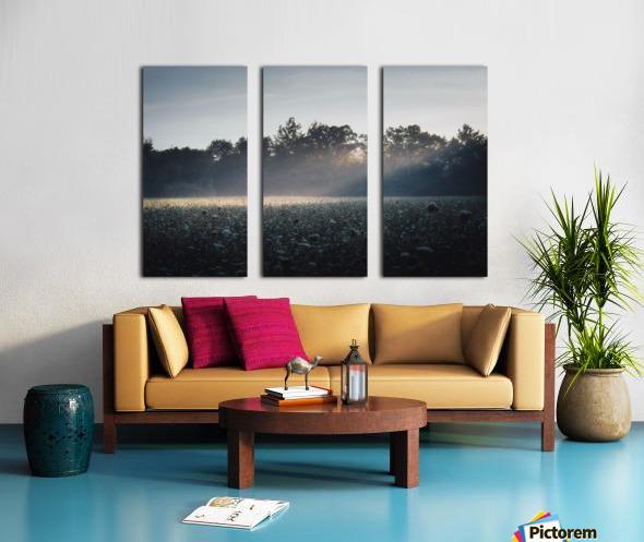 Pennsylvania Sunrise Split Canvas print