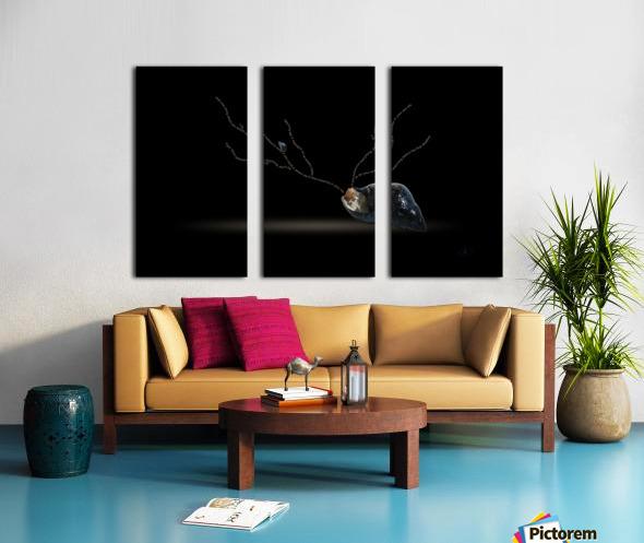 Cerebration Split Canvas print