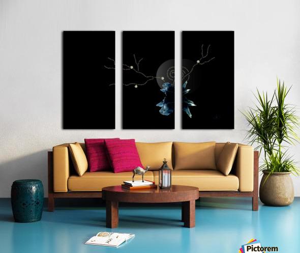 Immersion Split Canvas print