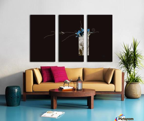 unpaid and unsung Split Canvas print