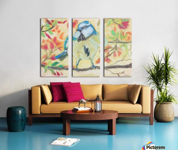 Angrybird Split Canvas print