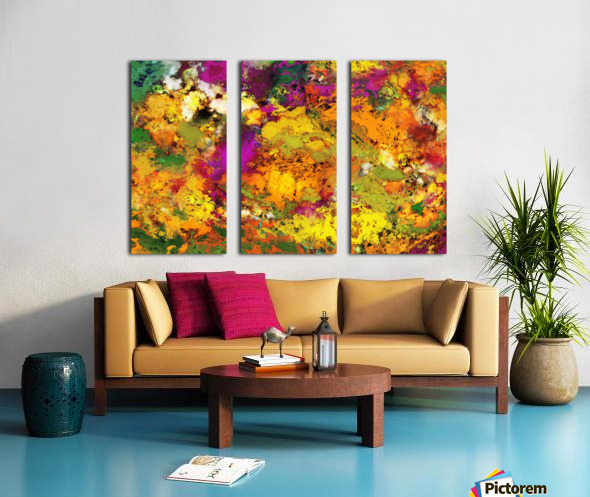 Looking for the impossible Split Canvas print