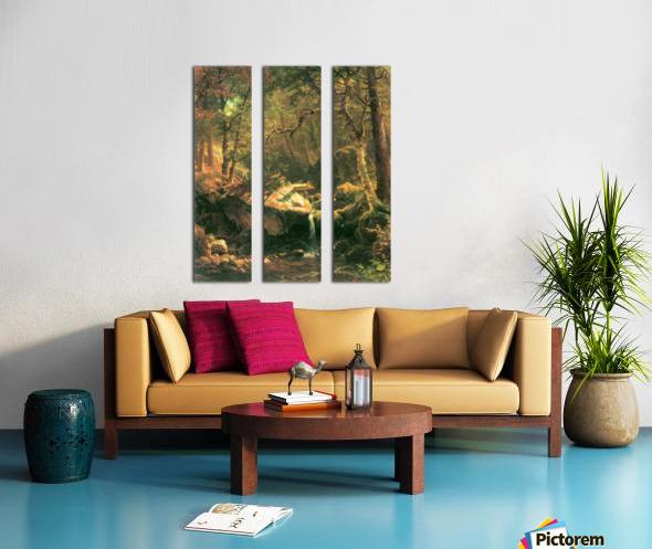 The Mountain by Bierstadt Split Canvas print