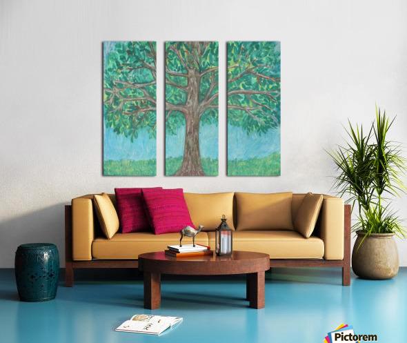 treewalk Split Canvas print