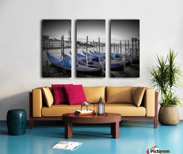 VENICE Grand Canal and St Mark's Campanile Split Canvas print