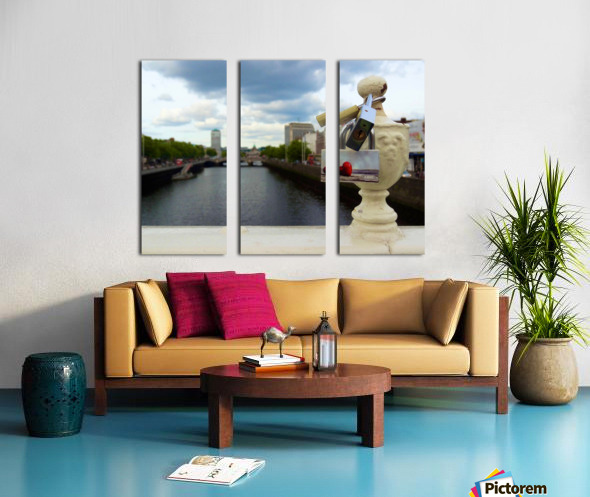 Love Dublin  Split Canvas print