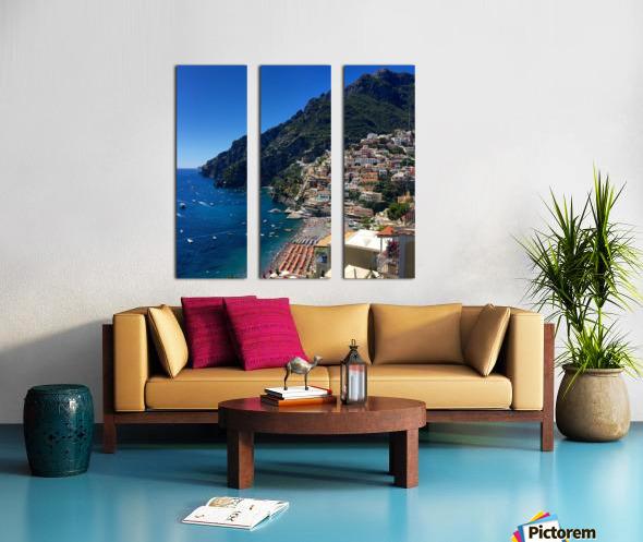 Positano Italy Split Canvas print