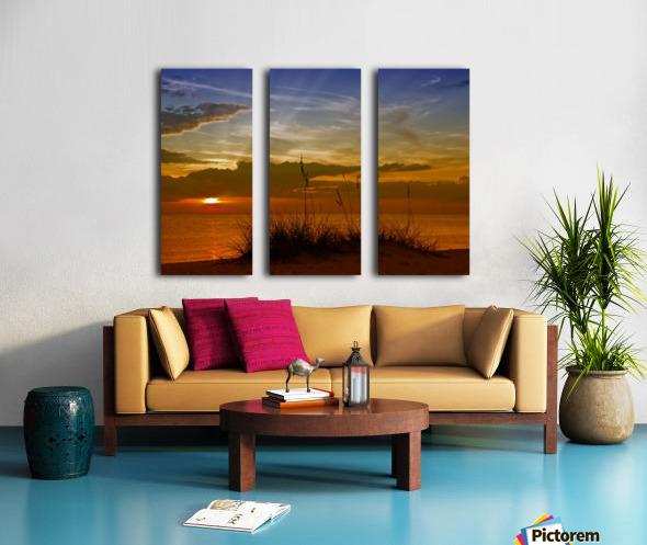Gorgeous Sunset Split Canvas print