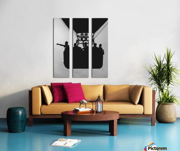 Basket Full Of Aeronauts Split Canvas print