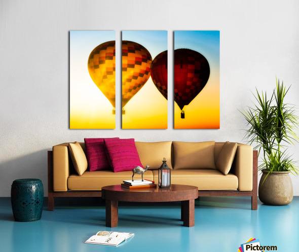 Look Into The Sun Split Canvas print