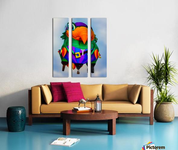 Pirate Parrot Adventures Split Canvas print