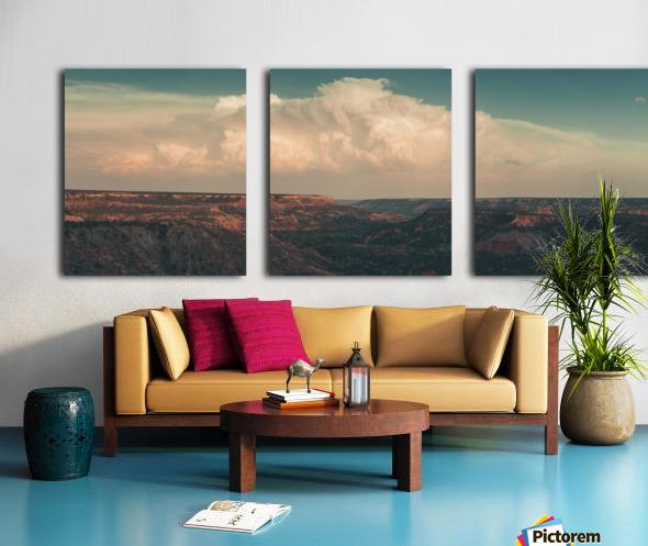 Palo Duro Canyon Split Canvas print