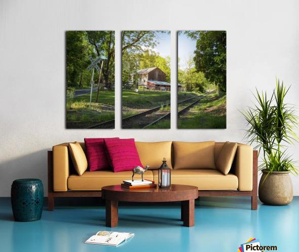 Country Life Split Canvas print
