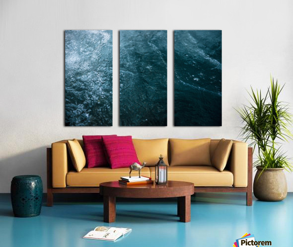 Mckenzie River Split Canvas print