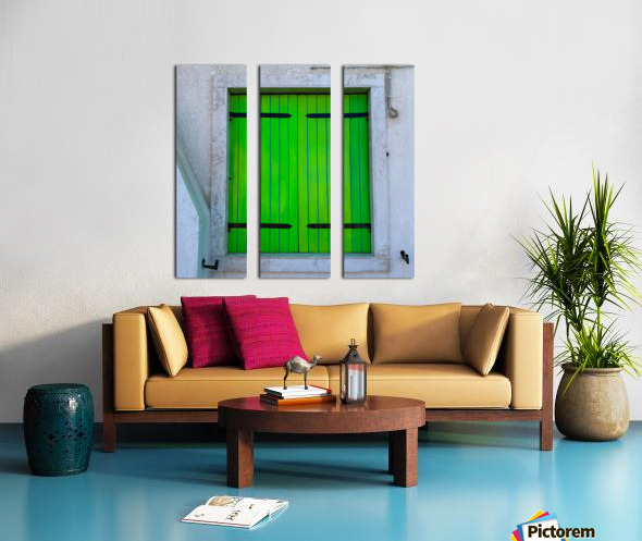 Windows of the World Split Canvas print