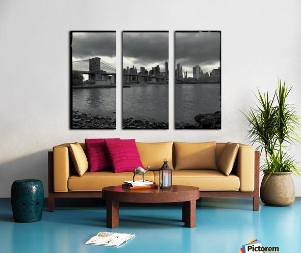 Gotham City  Split Canvas print