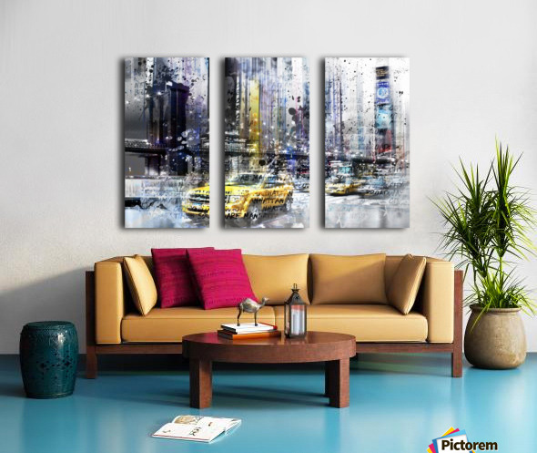 City-Art NYC Collage Split Canvas print