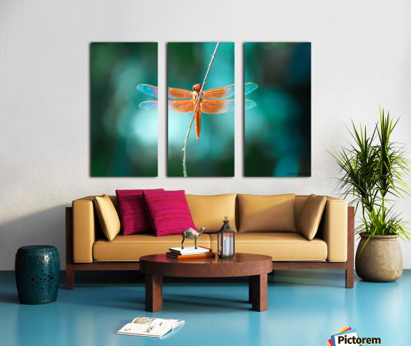 KINDNESS IS THE KEY TO MAGIC collection 1-4 Split Canvas print