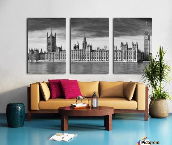 Houses Of Parliament Split Canvas print