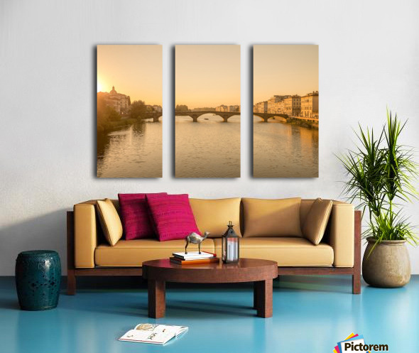 Florence Split Canvas print