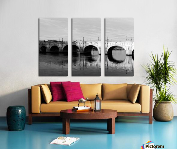 Pont Neuf Reflection Toile Multi-Panneaux