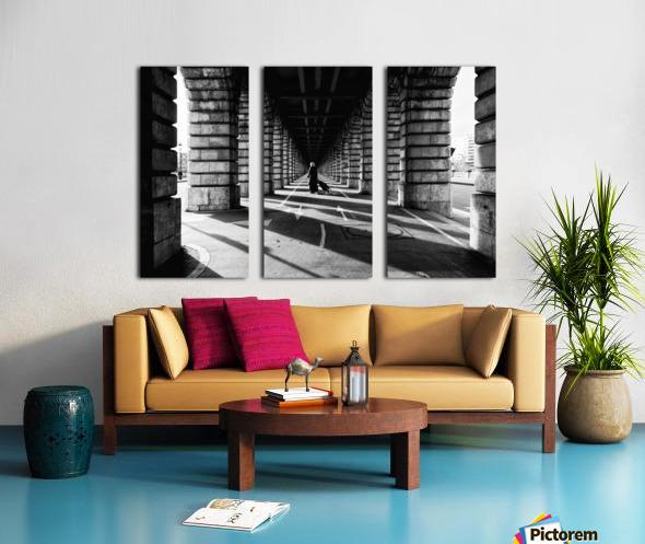 Bercy bridge Toile Multi-Panneaux