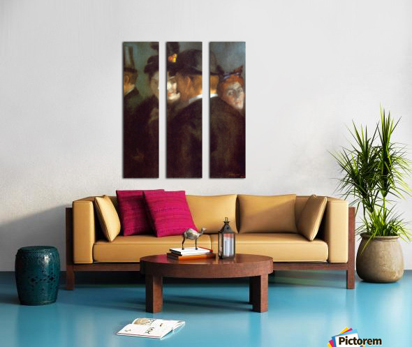 Theatre Foyer by Anquetin Split Canvas print